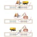 Схема задувки кабеля