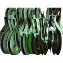 Раскаточные кабельные ролики различного диаметра