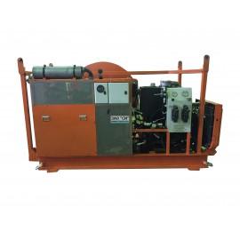 Гидравлическая кабельная траншейная лебедка ЛСИ.200Т 200 кН