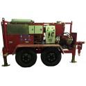 Гидравлическая кабельная траншейная лебедка ЛСИ.1000Т 1000 кН (100 тонн)