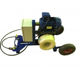 Электрическая кабельная лебедка для протяжки кабеля ЭЛПКСИ.15НАМ (1500 кг)