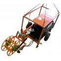 Натяжная машина, лебедка ЛСИ.100НМ с тяговым усилием 100 кН