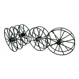 Барабан стальной окрашенный для кабельных лебедок ЛСИ