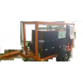 Лебедка кабельная гидравлическая траншейная ЛСИ.60Т 60 кН
