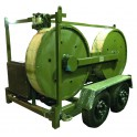Тормозная машина, лебедка ЛСИ.3Х45ТМ с усилием 3Х45 кН