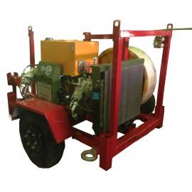 Тормозная машина, лебедка ЛСИ.15ТМ с усилием 15 кН