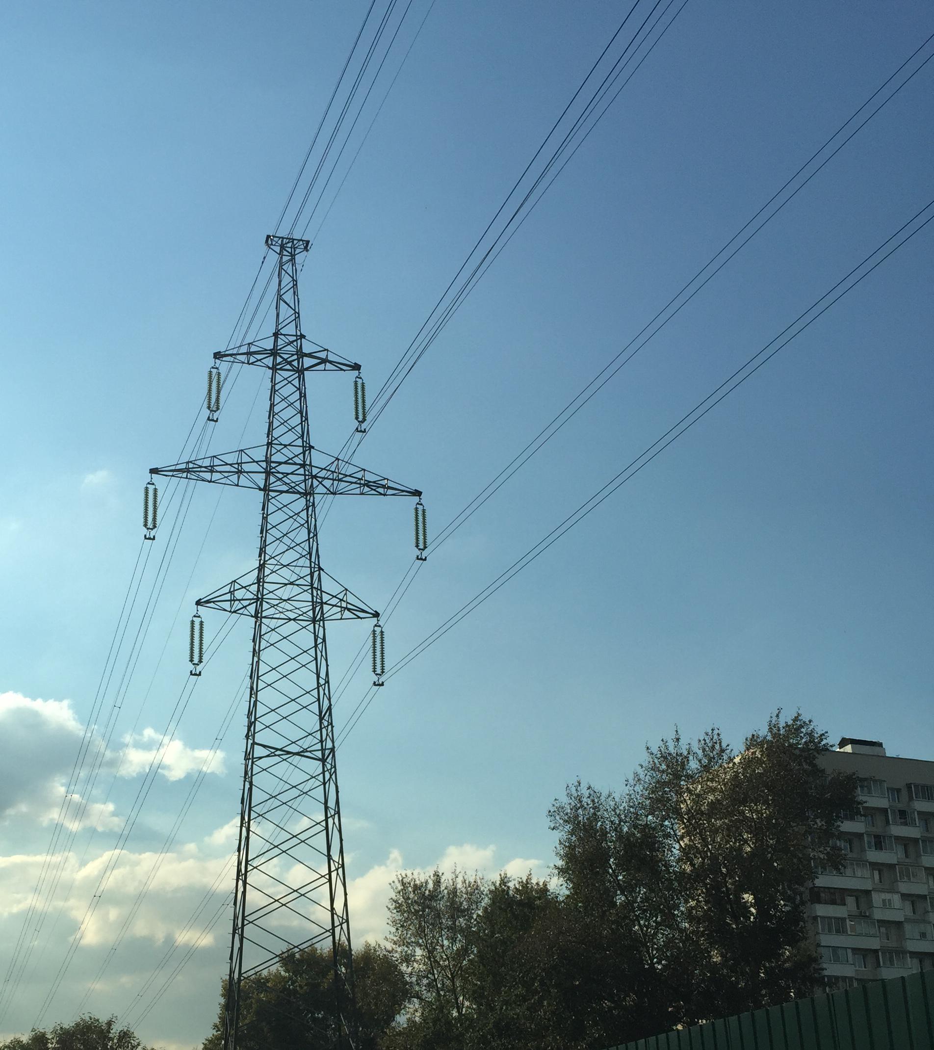 как без проводов подключится к высоковольтной линии