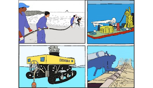 Подводная прокладка кабеля